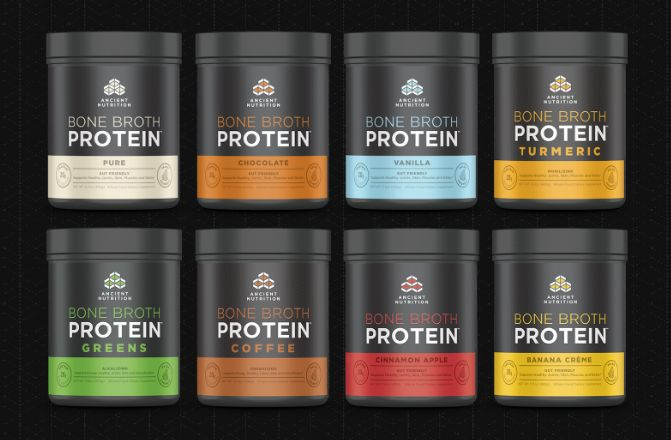 New Product Line: Bone Broth Protein